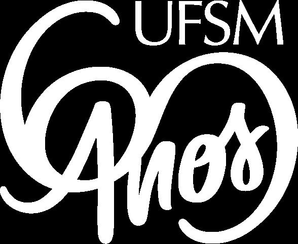 Imagem do selo comemorativo dos 60 anos de UFSM.
