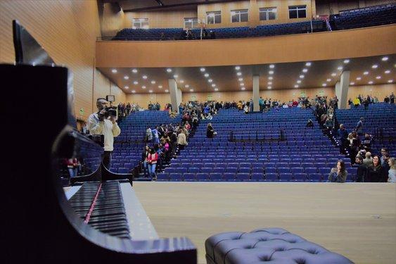 Centro de Convenções tem capacidade para 1.201 pessoas