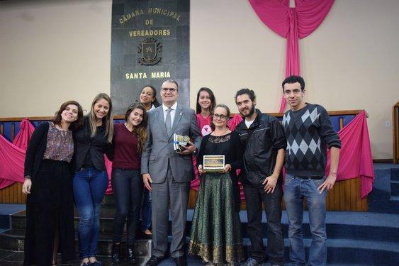 UFSM e Migraidh foram reconhecidos pelo Legislativo de Santa Maria
