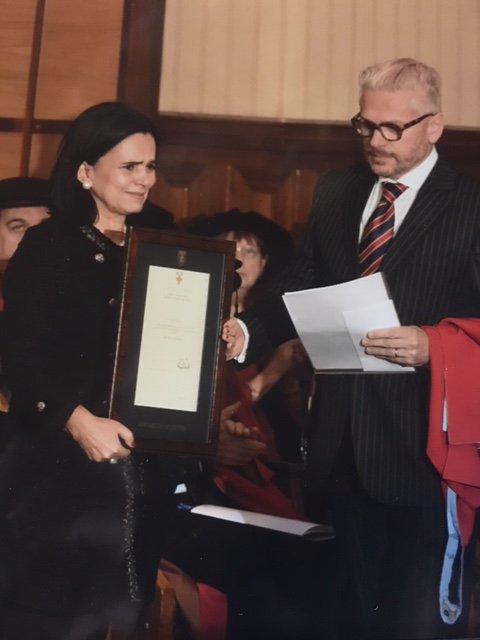 Eugenia e Cesar Barichello, pais de Stefania