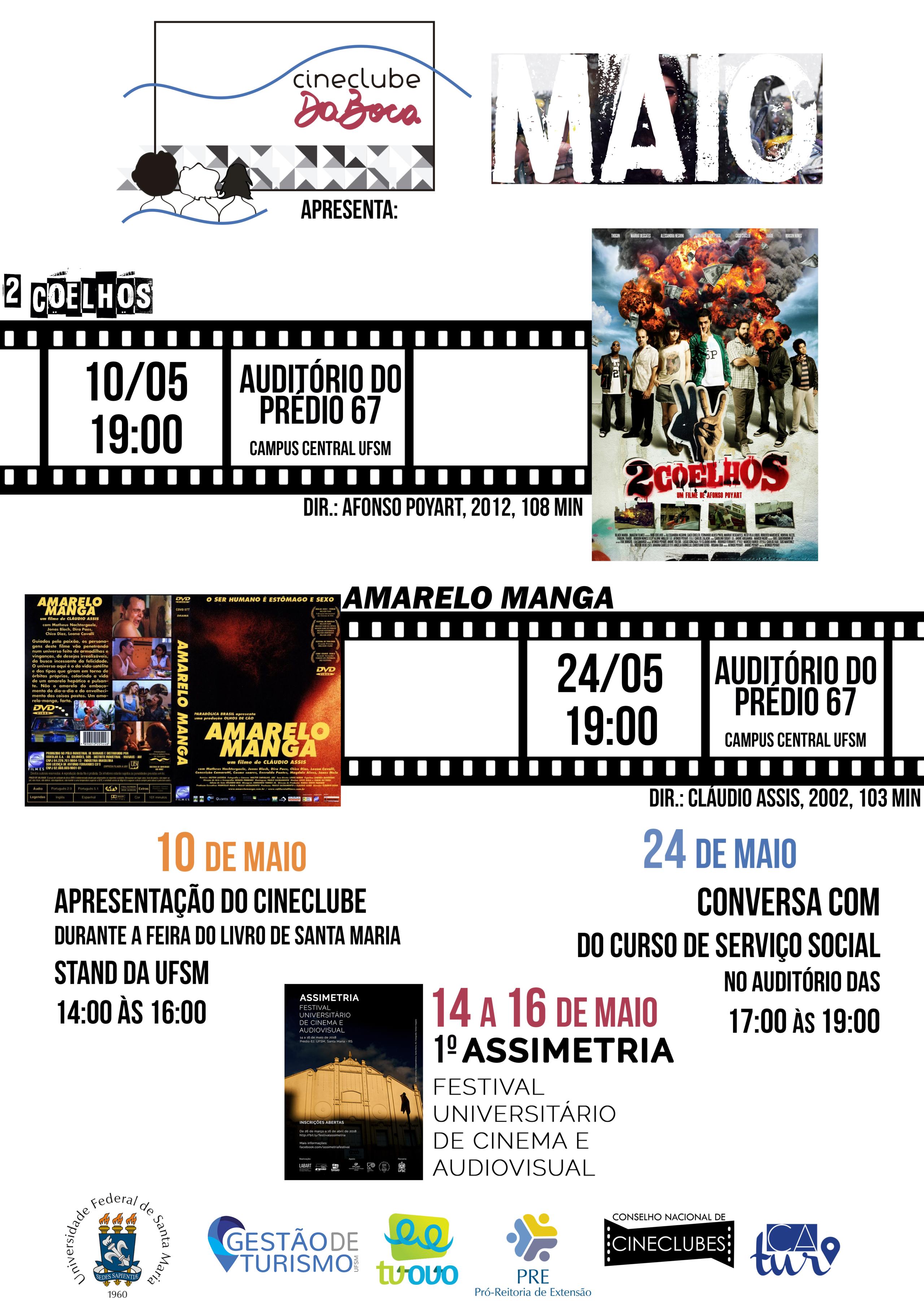 Amarelo Manga 2002 cineclube da boca promove bate-papo e exibição de filme