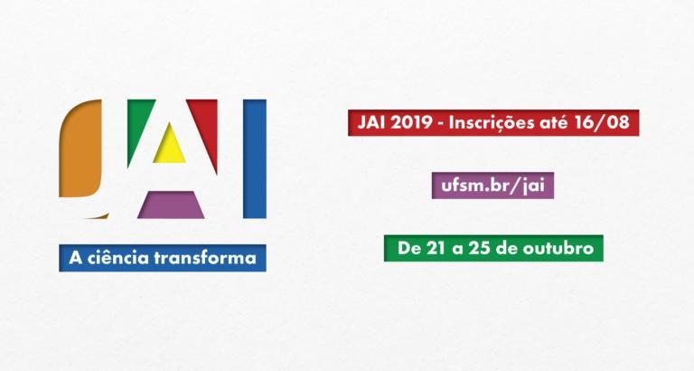 Arte horizontal em fundo branco com o logo e informações principais sobre a JAI