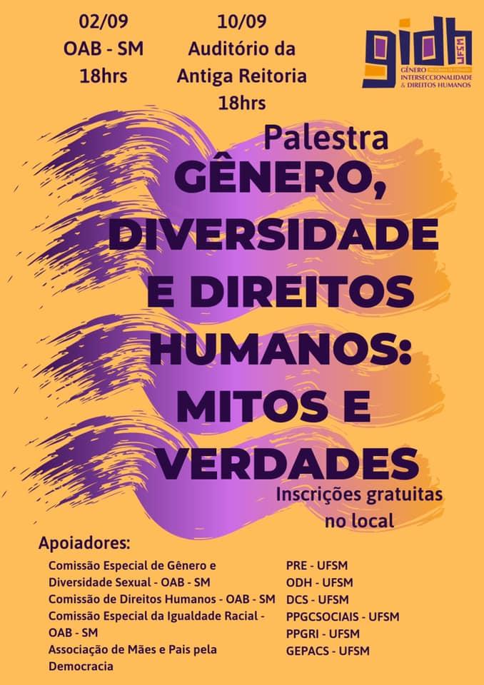 Arte vertical colorida com as informações do evento que constam no texto