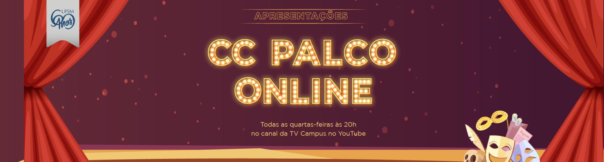 Banner CC Palco Online