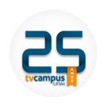 Selo 25 anos TV Campus