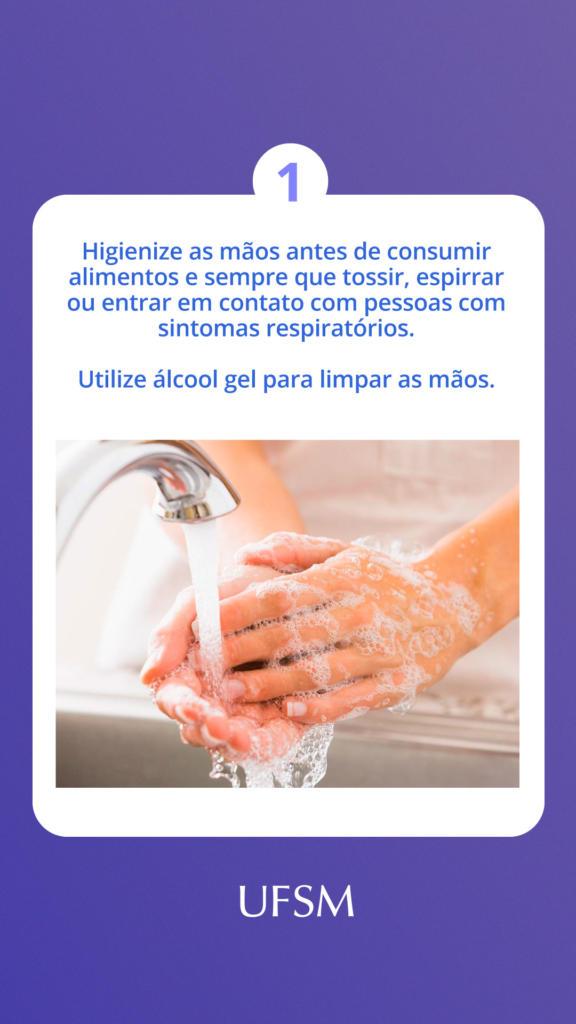 Story lavar as mãos