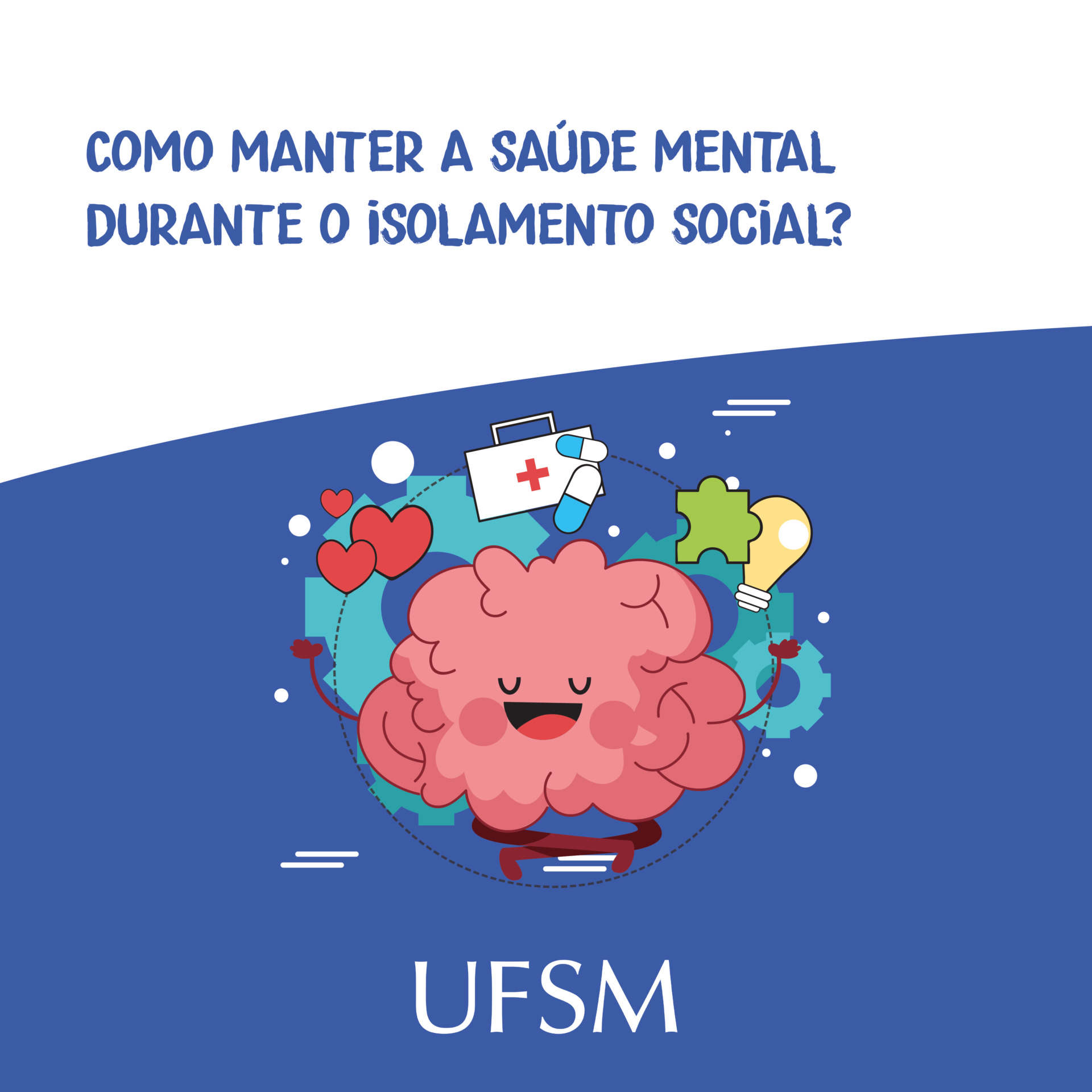 Post Como manter a saúde mental no isolamento social?