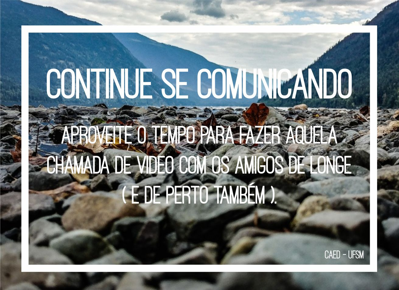 Post Continue se comunicando