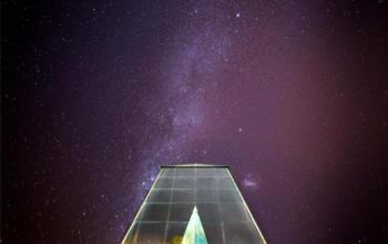 Exposição de fotografias ressalta as luzes e sombras do ambiente noturno da UFSM