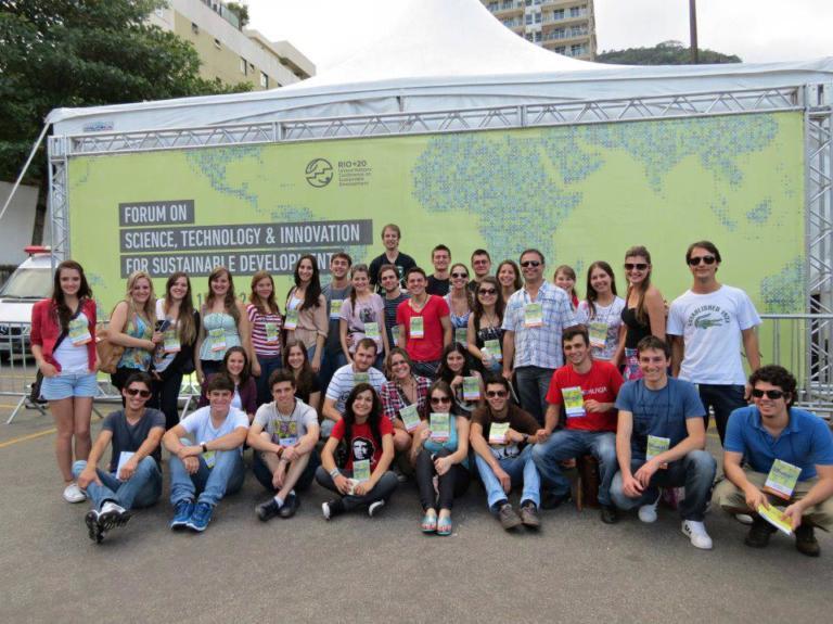 Participação Rio + 20 - 2012