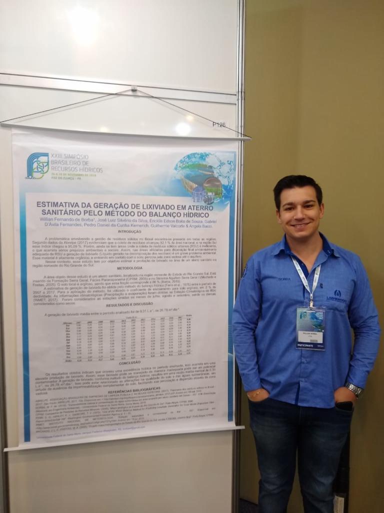 Participação no XXIII Simpósio Brasileiro de Recursos Hídricos - Foz do Iguaçu - PR 2019
