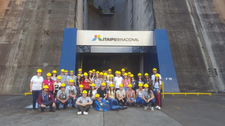 Usina Hidrelétrica de Itaipu - Foz do Iguaçu - PR