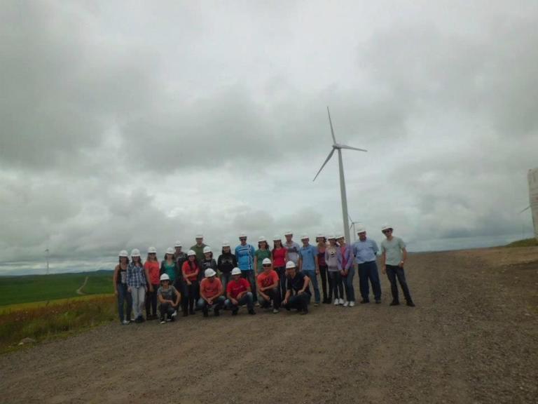 Parque eólico - Água doce - SC