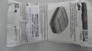 Imagem de Cartucho Químico para Formaldeído e Vapores Orgânicos