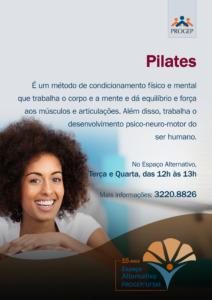 Breve descrição da oficina de Pilates