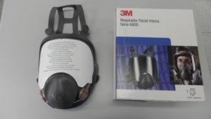 Imagem de Respirador Purificador de Ar Tipo Peça Facial Inteira - CA 7298