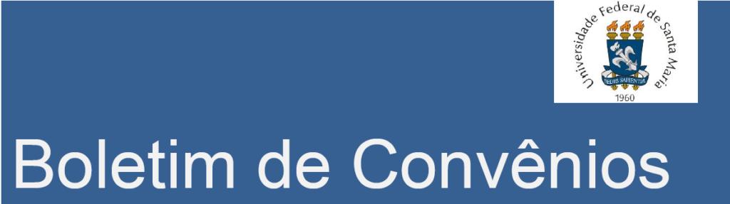 Capa do Boletim de Convênios