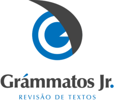 Logotipo - Grámmatos Jr - Vertical - Colorido