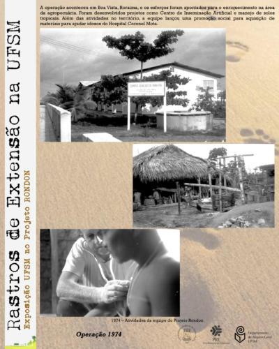 Exposição UFSM no Projeto Rondon