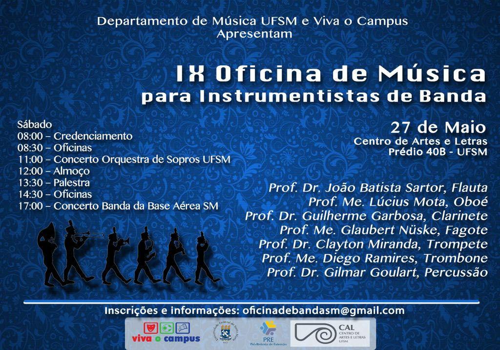 Cartaz2017 Banda Sinfnica UFSM