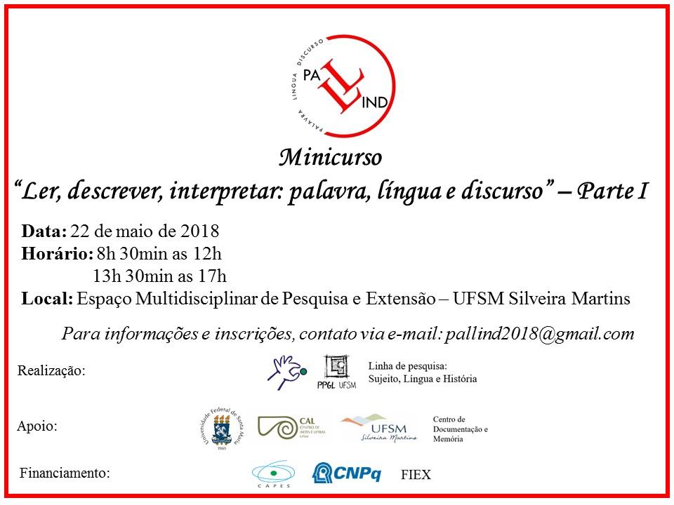 Cartaz Minicurso Verso Final