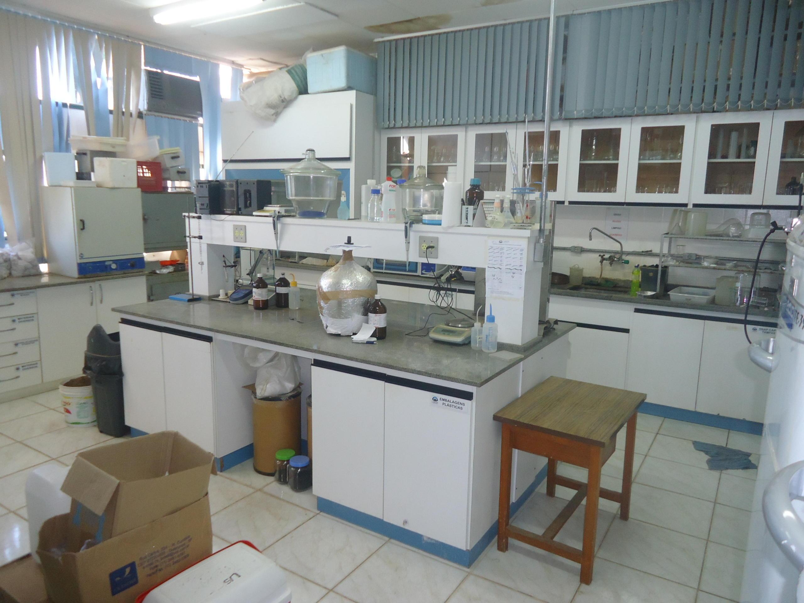Laboratrio Microbiologia do Solo 2