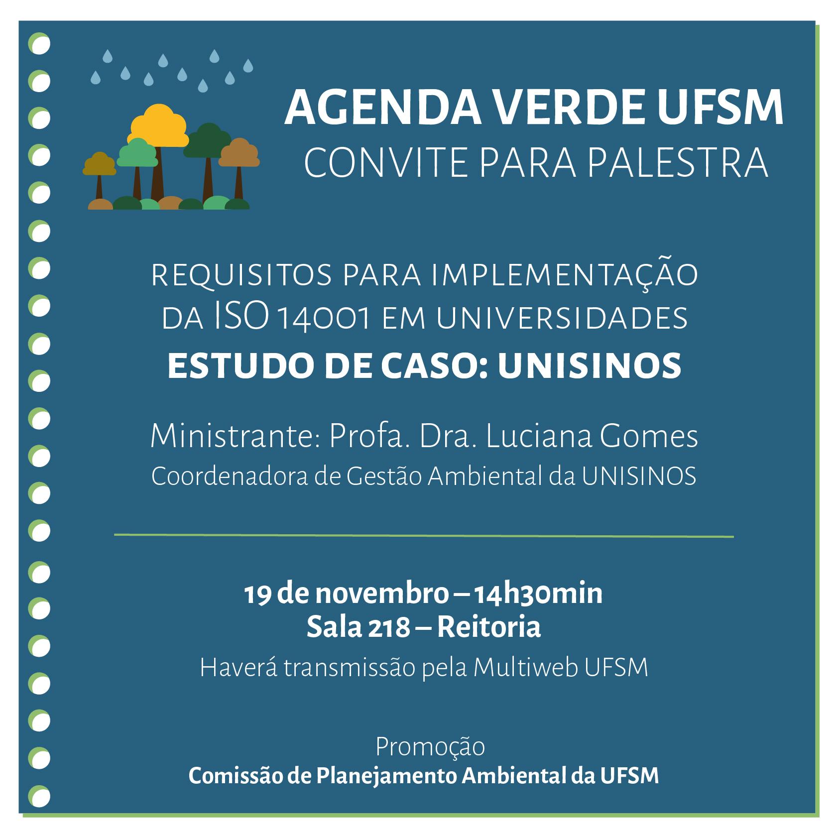 Agenda Verde Novembro