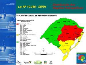 figura lei 10.350-94 bacias hidrográficas rs
