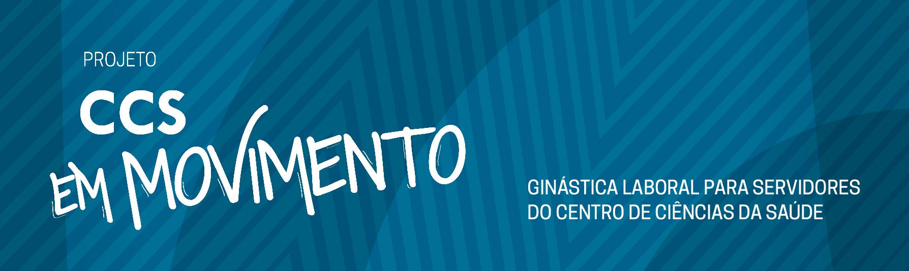 Projeto CCS em Movimento banner para site