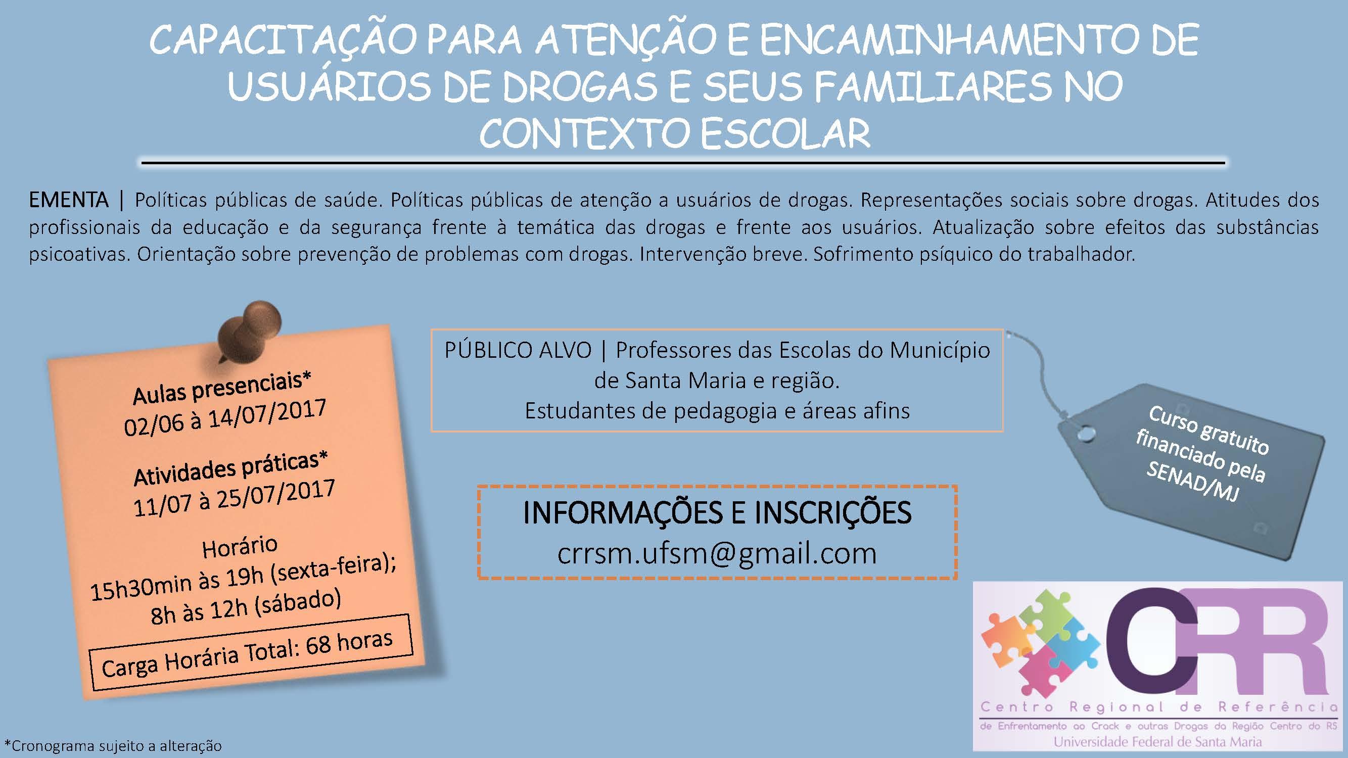 Convite Curso para Professores