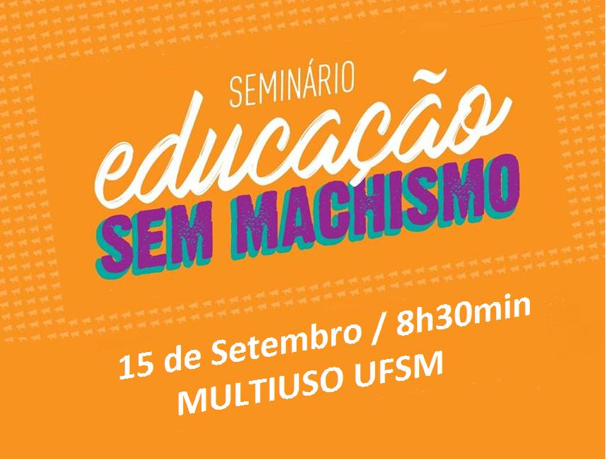 seminário educação sem machismo