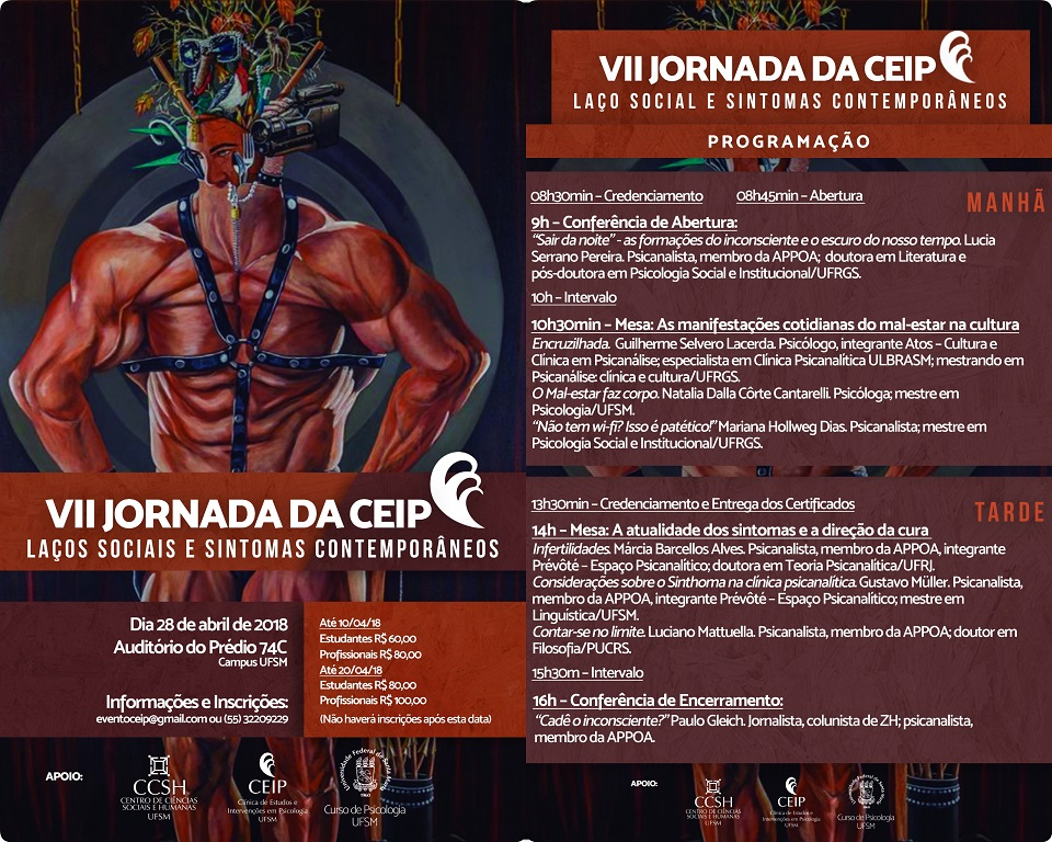 Cartaz e Programação VII Jornada da CEIP