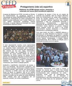 CEFD é Esporte - 19.07.19
