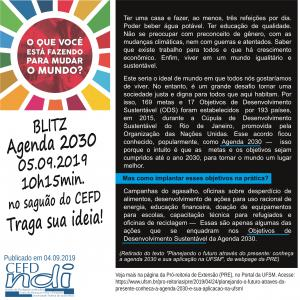 Agenda 2030 - 05.09.19