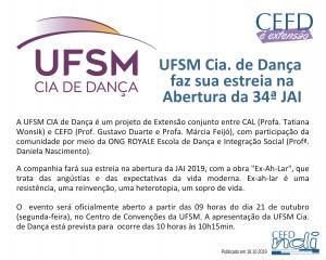 CEFD é Extensão - 18.10.19
