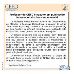 CEFD é Pesquisa - 17.07.19