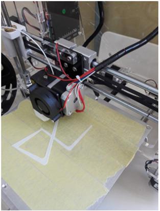 Etapa 3 - O modelo comea a ser impresso oficial