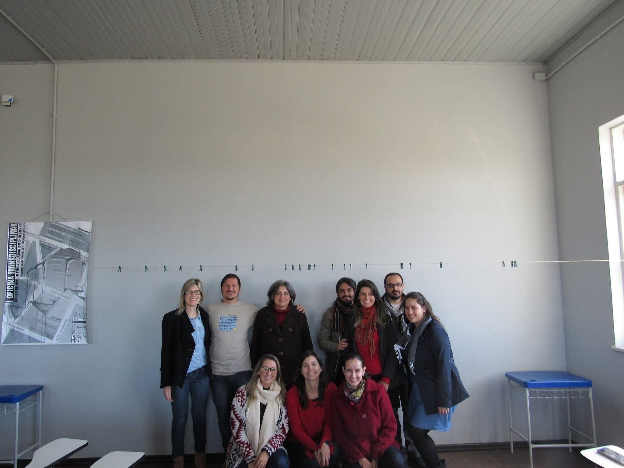 Professores do CAU