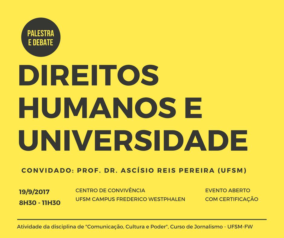 DIREITOS HUMANOS E UNIVERSIDADE 1