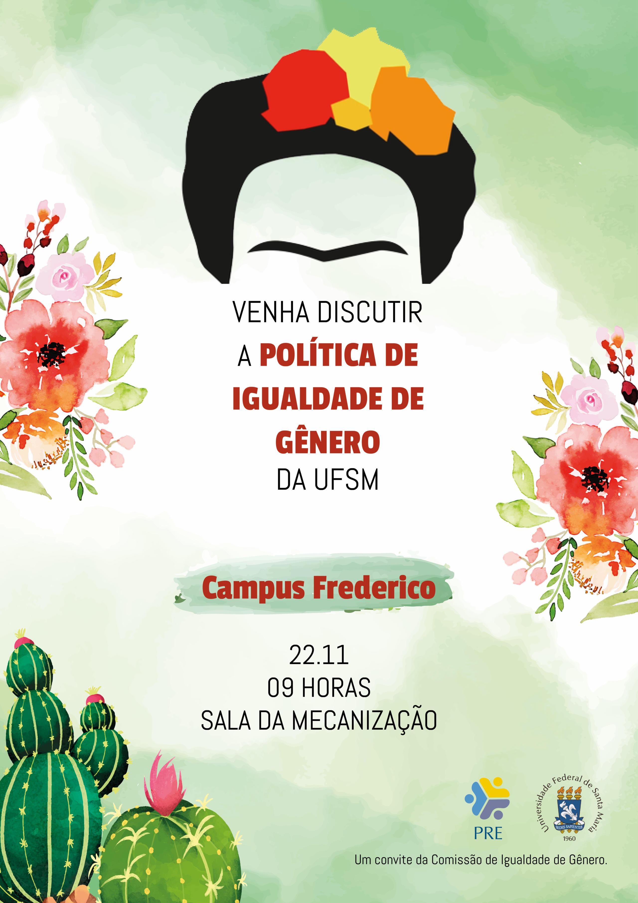 CARTAZ FRIDA FREDERICO