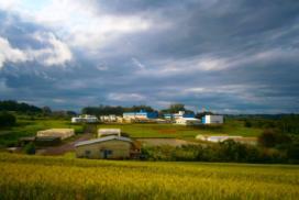 Vista do Campus da UFSM - FW.