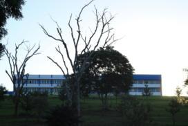 Vista do segundo prédio do CESNORS da UFSM.