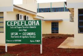 Centro de Pesquisa Florestal e Ambiental Juarez Hoppe (CEPEFLORA), do CESNORS da UFSM.