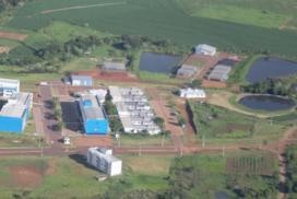 Vista aérea do CESNORS da UFSM.