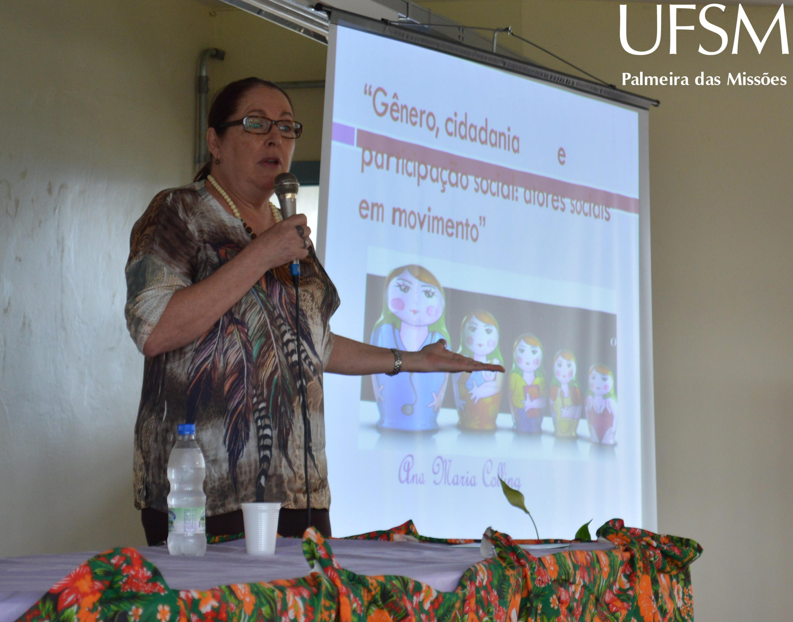 2 - Conferência prof.ª Ana Maria Colling