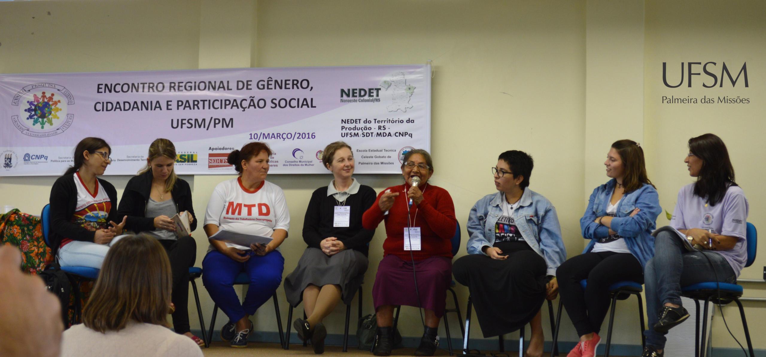 3 - Painel Mulheres em cirandas tecendo histórias nos movimentos sociais