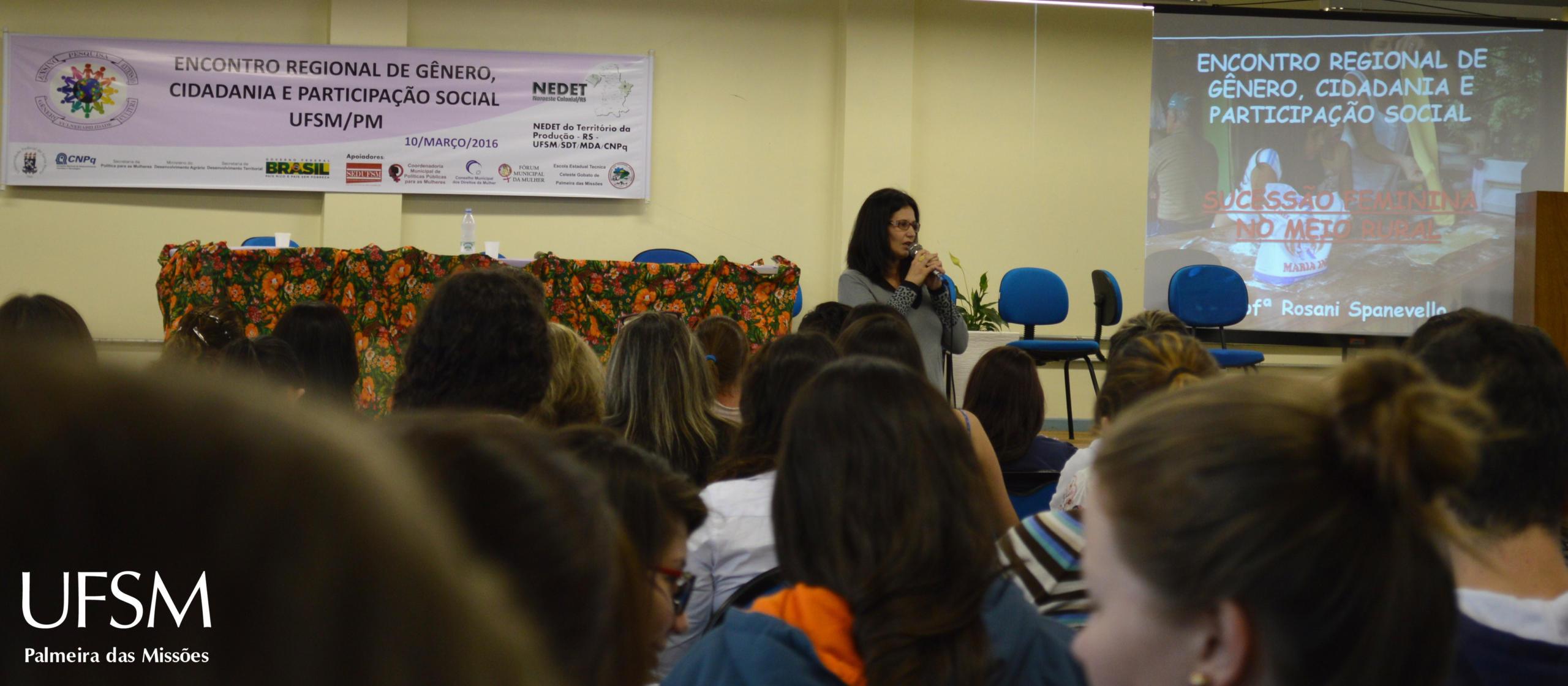 4 - Palestra prof.ª Rosani Spanevello
