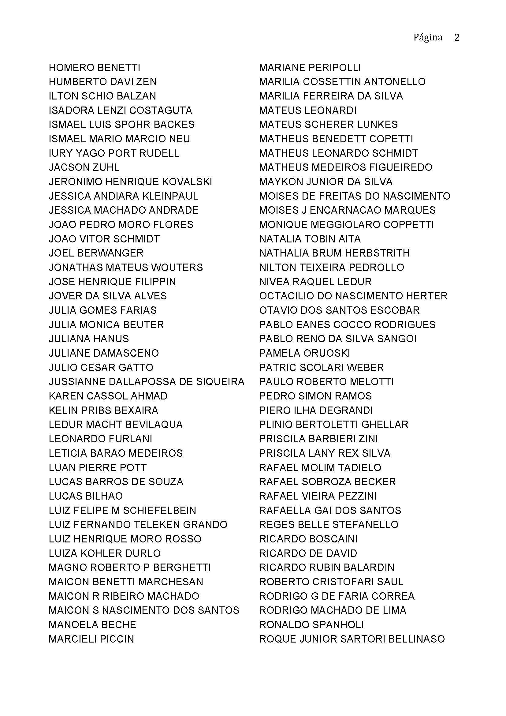 enade2016 selecionados enade Page 2