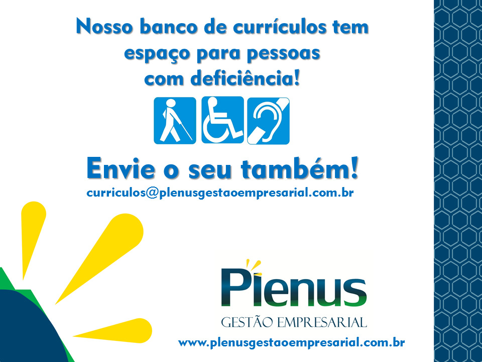 BANCO DE CURRÍCULOS - PCD