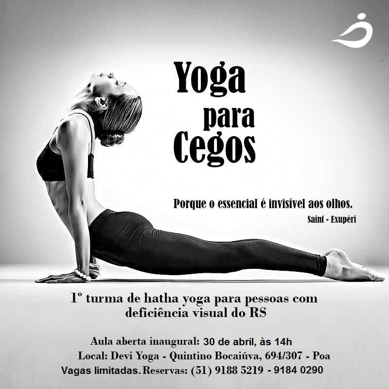 yoga para cegos